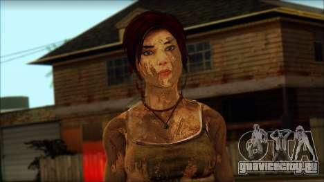 Tomb Raider Skin 10 2013 для GTA San Andreas третий скриншот