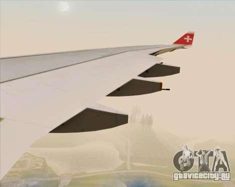 Airbus A330-300 Swiss International Air Lines для GTA San Andreas колёса