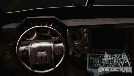 FBI Armored Vehicle v1.2 для GTA San Andreas вид сзади слева