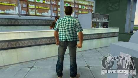 Kockas polo - vilagoskek T-Shirt для GTA Vice City четвёртый скриншот