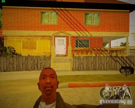 Обновленный дом CJ для GTA San Andreas