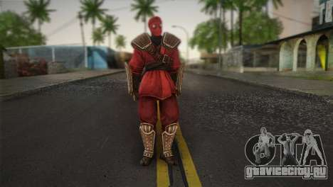 Foot Soldier Elite v1 для GTA San Andreas