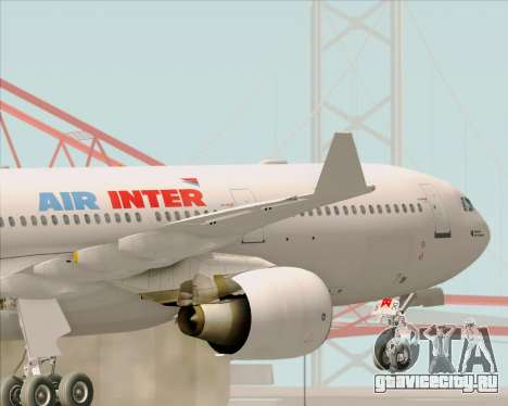 Airbus A330-300 Air Inter для GTA San Andreas салон