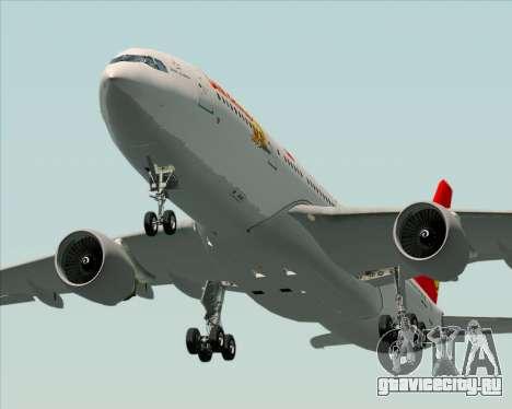Airbus A330-200 Air China для GTA San Andreas салон