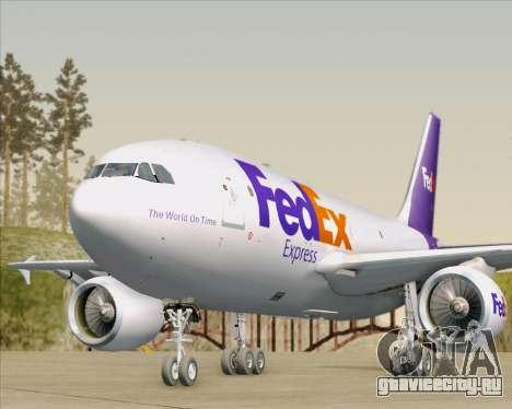 Airbus A310-300 Federal Express для GTA San Andreas двигатель
