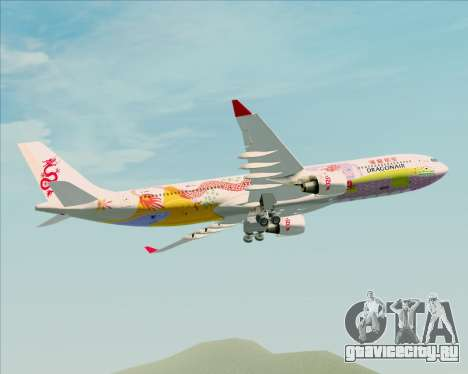 Airbus A330-300 Dragonair (20th Year Livery) для GTA San Andreas вид сбоку