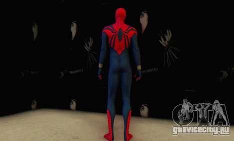 Skin The Amazing Spider Man 2 - Suit Ben Reily для GTA San Andreas четвёртый скриншот