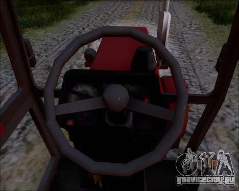МТЗ-80 для GTA San Andreas салон