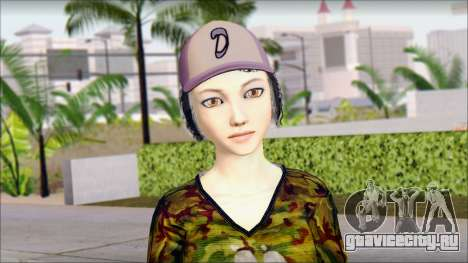 Взрослая Клементина для GTA San Andreas третий скриншот