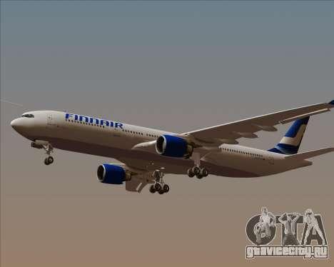Airbus A330-300 Finnair (Old Livery) для GTA San Andreas вид изнутри