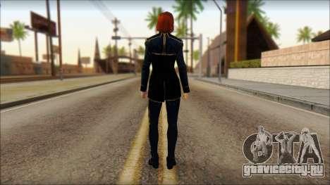 Mass Effect Anna Skin v1 для GTA San Andreas второй скриншот
