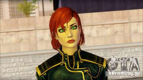 Mass Effect Anna Skin v1 для GTA San Andreas третий скриншот