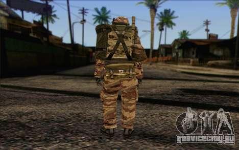 Солдат МЕК (Battlefield 2) Skin 3 для GTA San Andreas второй скриншот