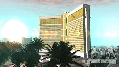 Новые текстуры казино Visage в Лас Вентурасе для GTA San Andreas второй скриншот