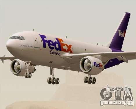 Airbus A310-300 Federal Express для GTA San Andreas