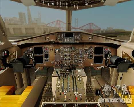 ATR 72-500 Garuda Indonesia Explore для GTA San Andreas вид сверху