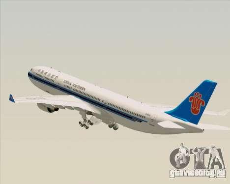 Airbus A330-300 China Southern Airlines для GTA San Andreas колёса