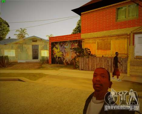 Обновленный дом CJ для GTA San Andreas второй скриншот