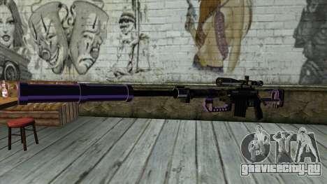 PurpleX Sniper Rifle для GTA San Andreas