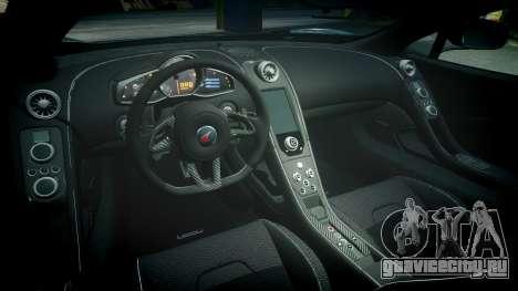 McLaren 650S Spider 2014 [EPM] BFGoodrich для GTA 4 вид изнутри