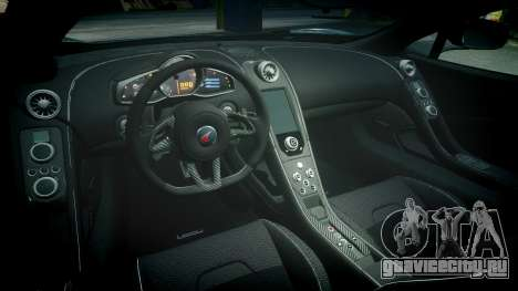 McLaren 650S Spider 2014 [EPM] Bridgestone v1 для GTA 4 вид изнутри