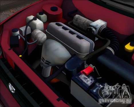 Toyota Corolla 1.6 для GTA San Andreas вид сзади
