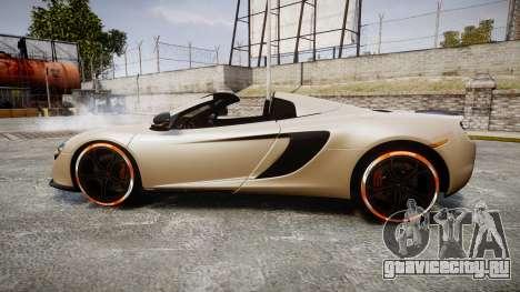McLaren 650S Spider 2014 [EPM] Bridgestone v1 для GTA 4 вид слева