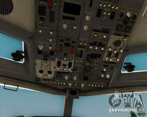 Boeing 737-8AS Ryanair для GTA San Andreas двигатель
