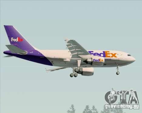 Airbus A310-300 Federal Express для GTA San Andreas вид справа
