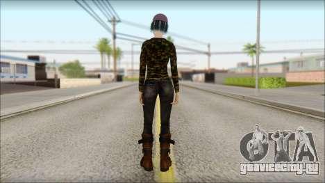 Взрослая Клементина для GTA San Andreas второй скриншот