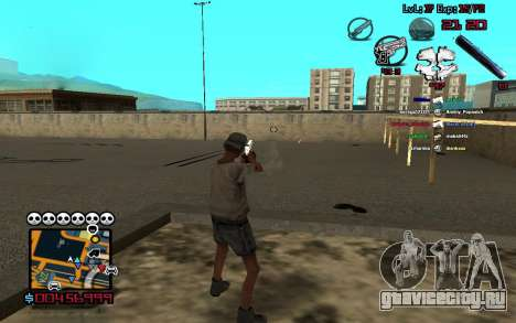 C-HUD by SampHack v.13 для GTA San Andreas второй скриншот