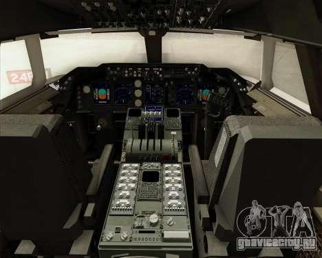Boeing 747-8 Cargo British Airways World Cargo для GTA San Andreas салон