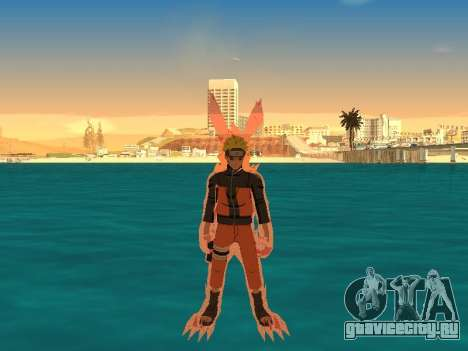 Трансформация Kyubi для GTA San Andreas второй скриншот