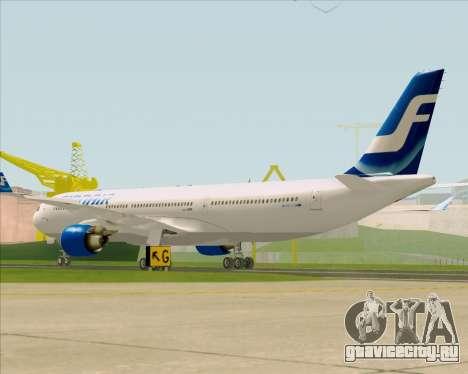 Airbus A330-300 Finnair (Old Livery) для GTA San Andreas вид справа