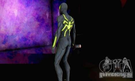 Skin The Amazing Spider Man 2 - Big Time для GTA San Andreas шестой скриншот