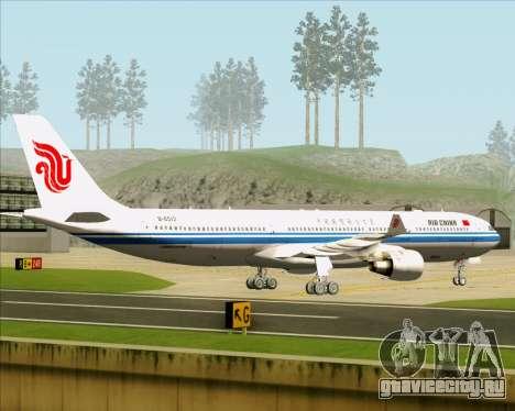 Airbus A330-300 Air China для GTA San Andreas вид сзади