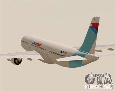 Airbus A330-300 Air Inter для GTA San Andreas