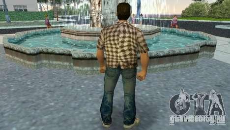 Kockas polo - koszos T-Shirt для GTA Vice City третий скриншот