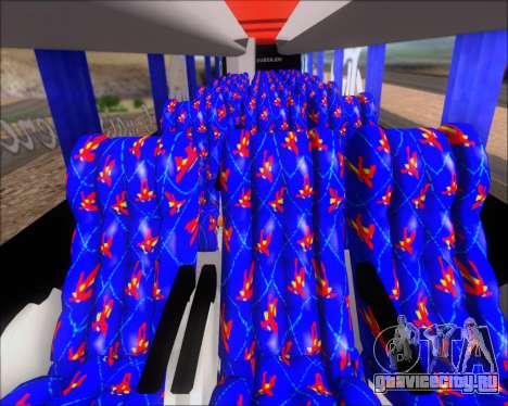 Busscar Elegance 360 C.R.F Flamengo для GTA San Andreas салон