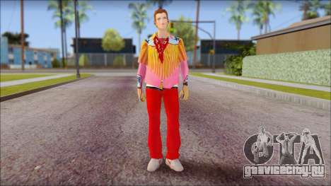 Marty from Back to the Future 1885 для GTA San Andreas