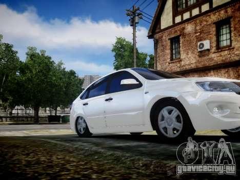 Lada Granta Liftback для GTA 4 вид сзади