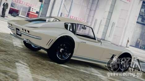 GTA 5 Coquette Classic для GTA 4 вид слева