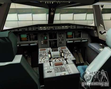 Airbus A380-841 Emirates для GTA San Andreas салон