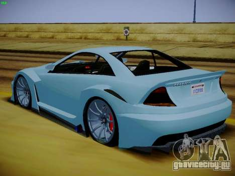 Benefactor Feltzer из GTA 5 для GTA San Andreas вид слева