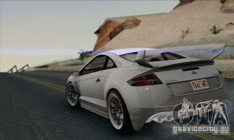 Maibatsu Penumbra 1.0 (HQLM) для GTA San Andreas вид сзади