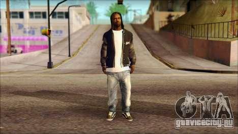 New Grove Street Family Skin v6 для GTA San Andreas