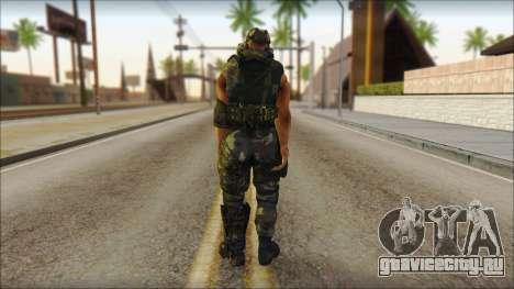 Claude Resurrection Skin from COD 5 v2 для GTA San Andreas второй скриншот