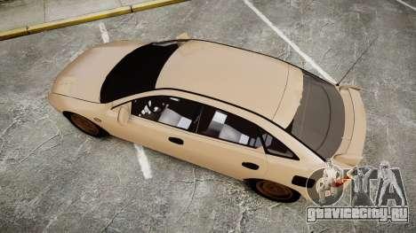 Mazda 323f 1998 для GTA 4 вид справа