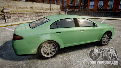GTA V Vapid Taurus для GTA 4 вид слева