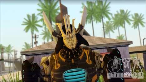 Дрифт (Transformers: Rise of the Dark Spark) для GTA San Andreas третий скриншот